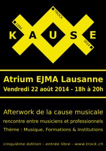 La Kause5 - Flyer